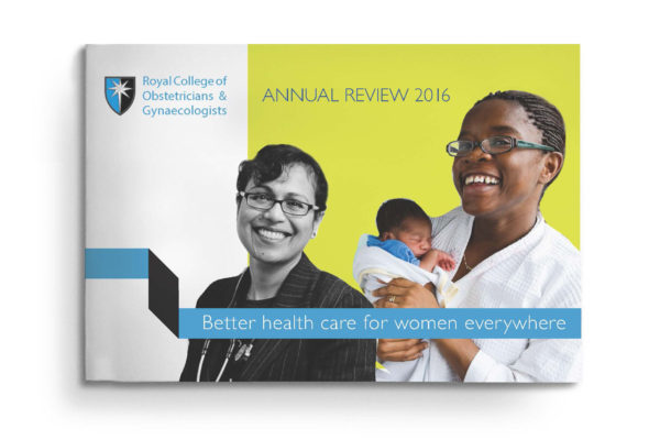 Royal College of Obstetricians and Gynaecologists annual report