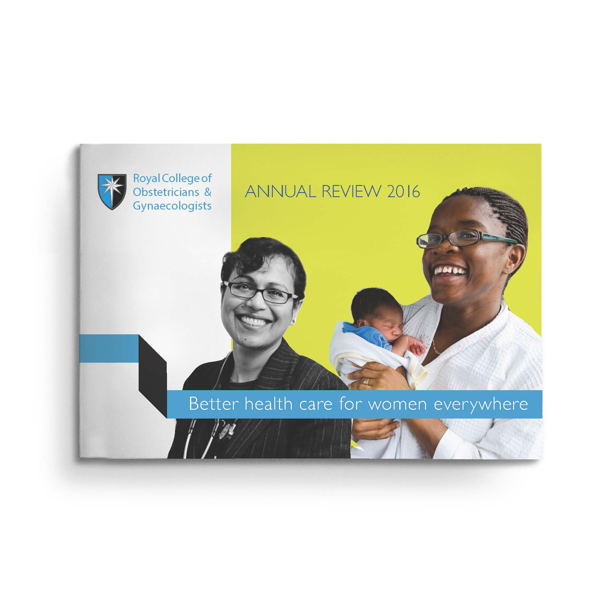 RCOG annual report cover design