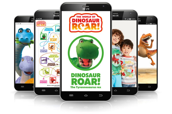 The World of Dinosaur Roar! website