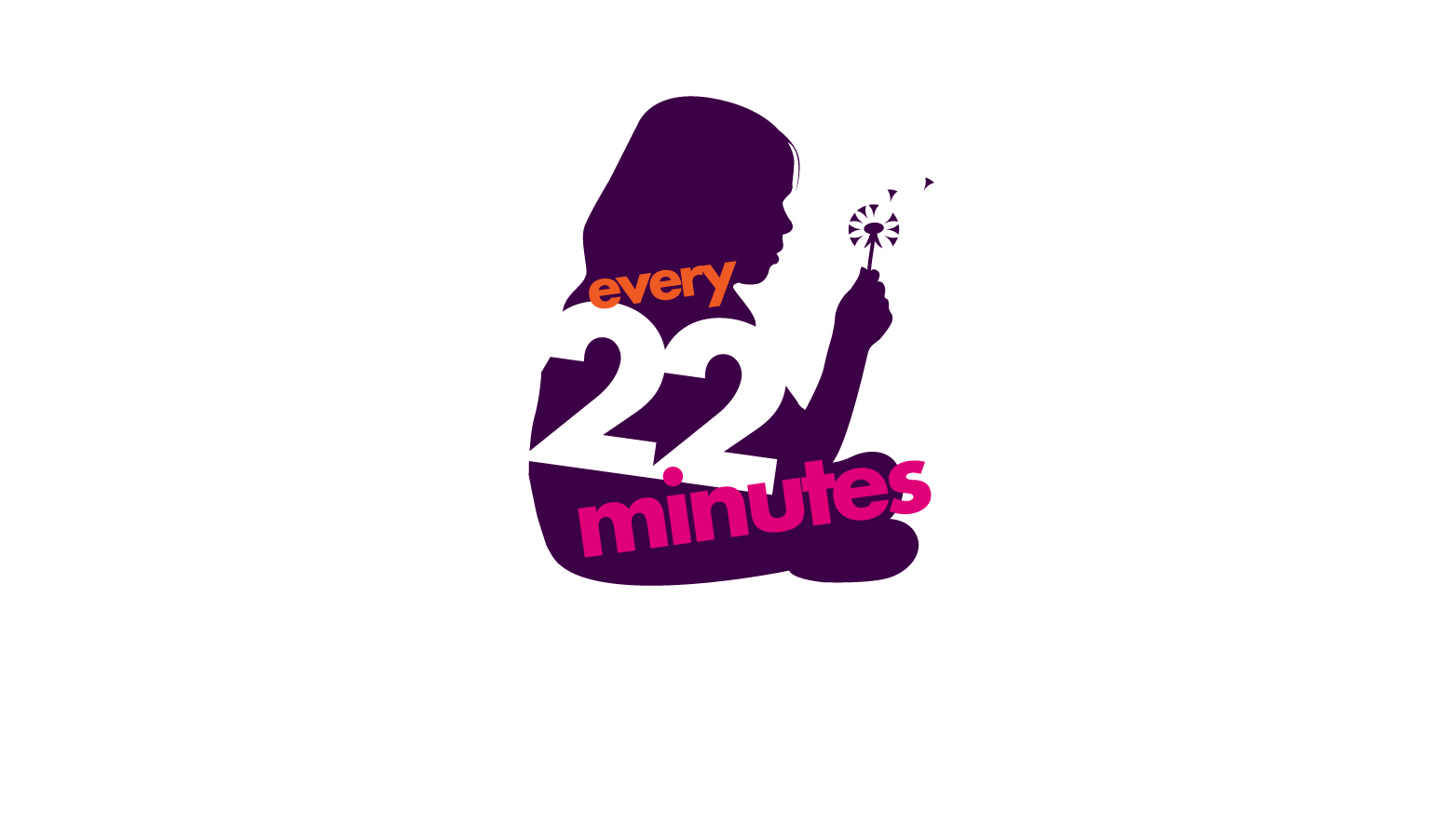 Spurgeons Every 22 Minutes campaign logo design