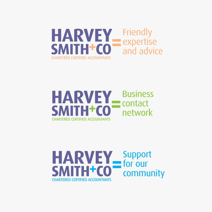 Harvey Smith and Co logotype suite