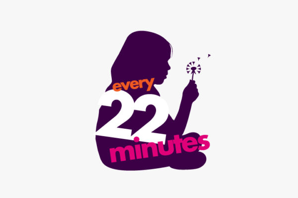 Every 22 Minutes campaign logo