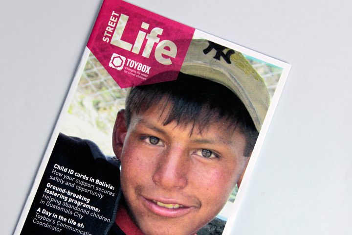 Street Life magazine front cover design