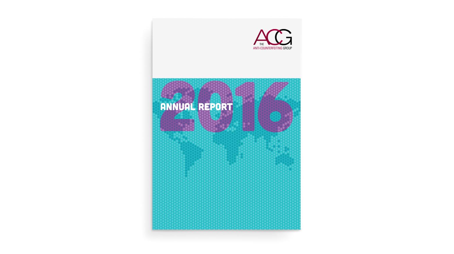 ACG annual report 2016 - cover design