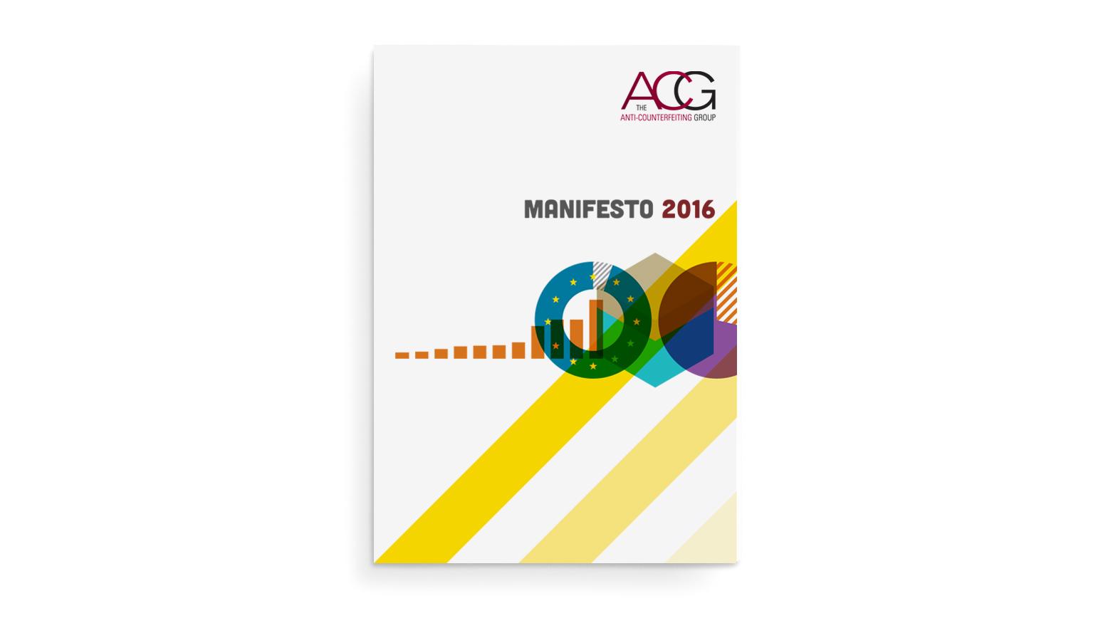 ACG Manifesto 2016 - cover design