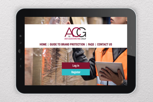 ACG Brand Protection microsite