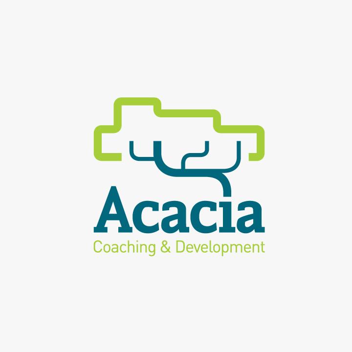 Acacia logo design