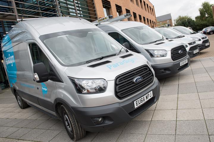 Paradigm fleet livery design