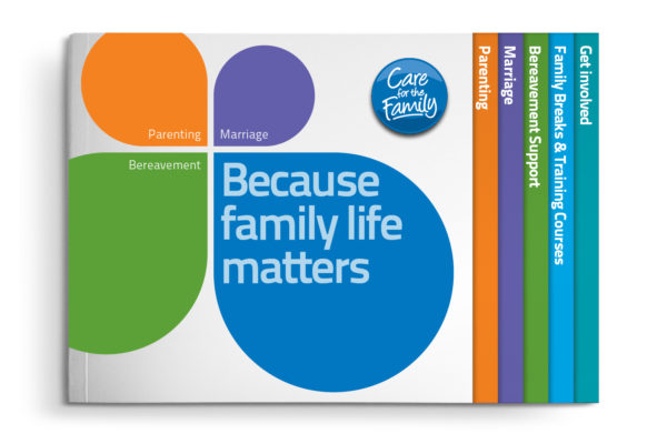 Care for the Family information brochure
