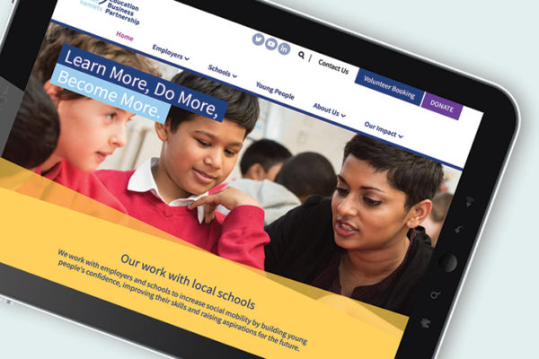 Tower Hamlets Education Business Partnership website