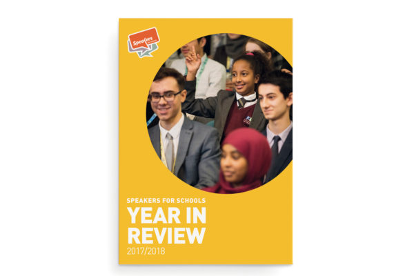 Speakers for Schools Year in Review