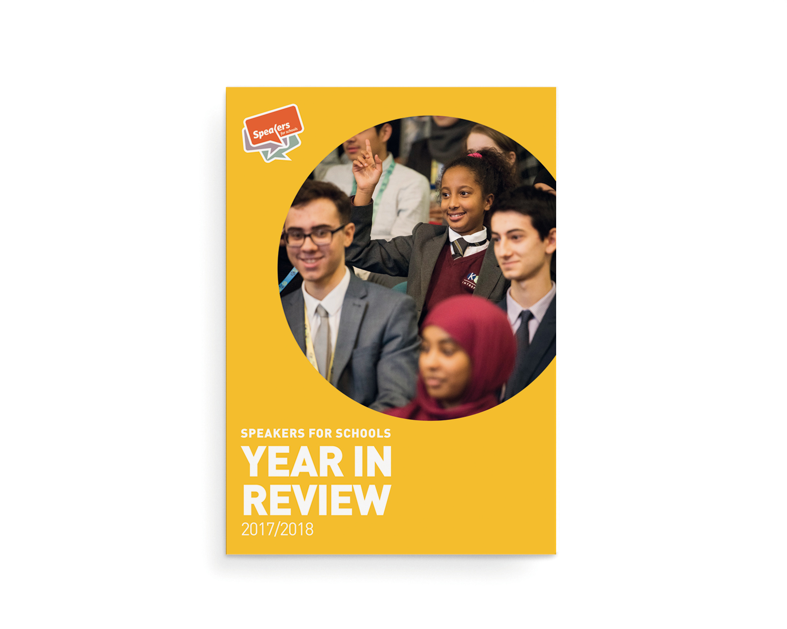 Speakers for Schools review cover